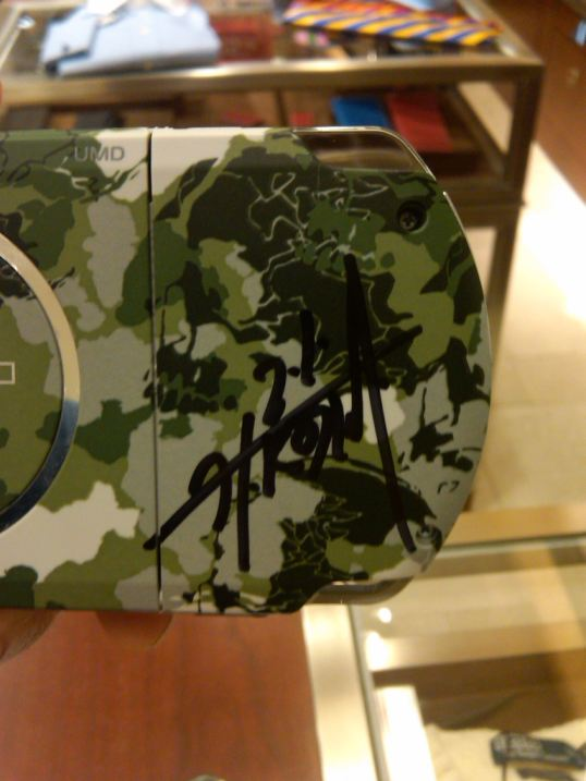 MGS PSP signed