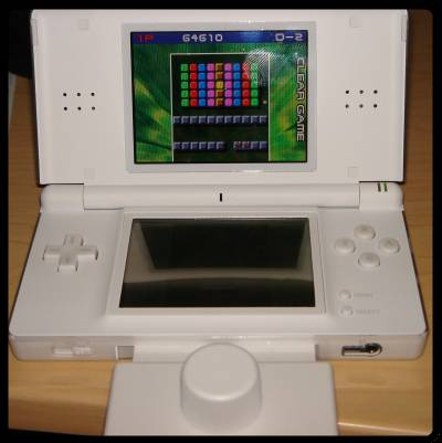Arkanoid DS with attachment