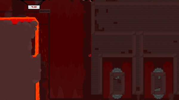 Super Meat Boy hell
