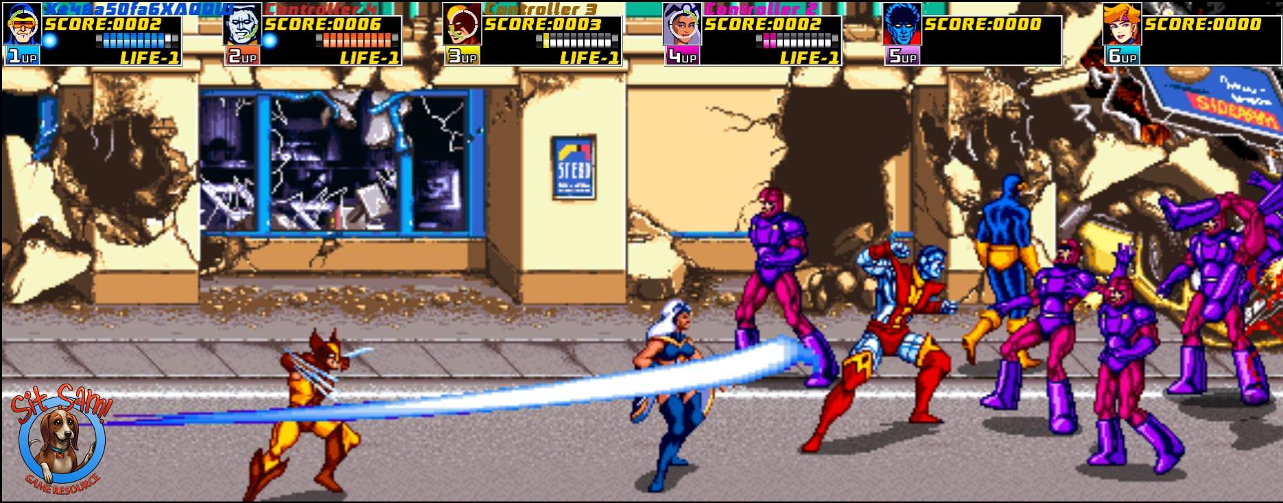 X-Men Arcade Gameplay