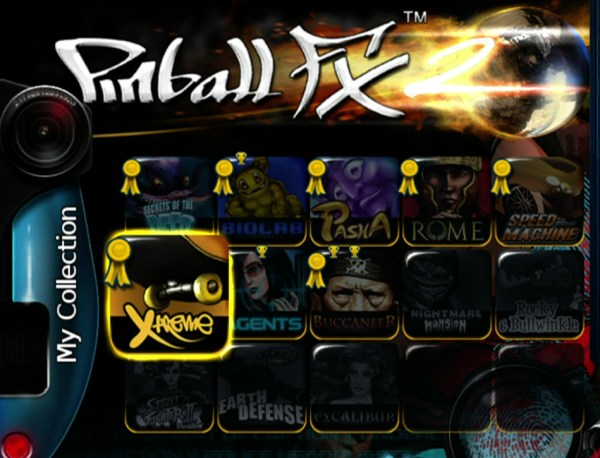 Pinball FX 2 tables