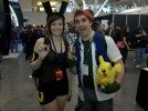 Ash and Umbreon Pokemon cosplay PAX East 2011