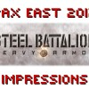 Kinect for the Hardcore Gamer is Steel Battalion: Heavy Armor